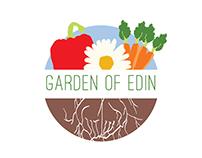 Garden of Edin Community Garden Branding