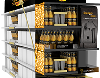 INDUSTRIAL DESIGN - STAND   STRONGBOW GOLD