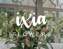 Ixia Flowers - Rebrand