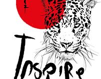Inspire Leopard Graphic