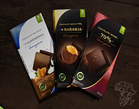 Chocolates Oxfam Intermón - Rediseño packaging