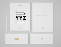 Flight School by Daily News Project / White & Gold