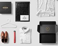 Preppy Clothing Brand Label Design
