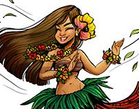 The Hawaiian Dancer