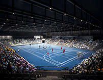 Sport center competition