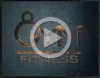 Brand: GYM FITNESS Video introduttivo del logo