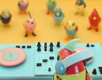 DigiBirds & DigiChicks: It's Party Time! Set & Props