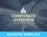 Corporate Overview - Business Keynote Template