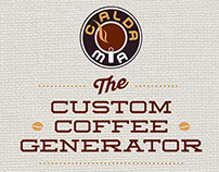 Custom Coffee Generator