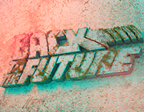 BACK TO THE FUTURE | 3D concrete typography