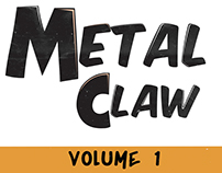 Metal Claw and The Audio Hypnosis: Comic Book