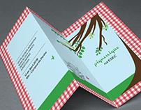 picnic poster & leaflet