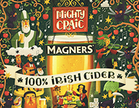 Mighty Craic - Magners