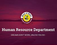 Human Resource Department / UI design