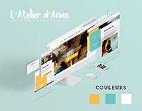 L'Atelier d'Anaïs site internet