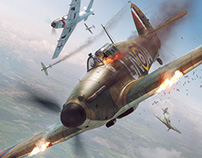 Battle of Britain Combat Archive Vol. 5 - Cover