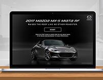 2017 Mazda MX-5 MIATA RF - Webcourse Design