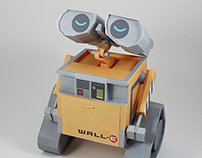 Wall-E paper craft