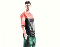 kasiq fashion Illustration series
