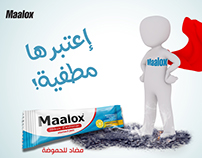 Maalox Social Media Post Design - Photo Manipulation.