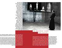 Talking Vision_academic project about Bill Viola