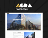 Agra | Construction Business Website
