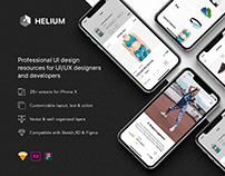 Helium - Fashion Shop UI Kit