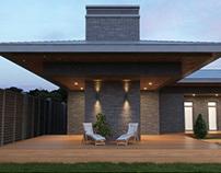 Жилой комплекс с гостевым домом и гаражом