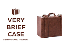 Very brief Case : Visiting Card Holder