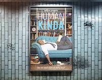 Human Kinda Move Poster: Retouching