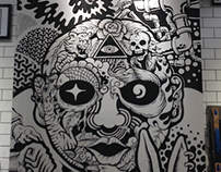 Art Works for Converse Store(with Enmasse)