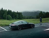 Porsche 4S Swiss edition X Rain