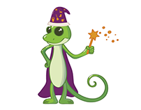 Green Lizard The Lawn Care Wizard
