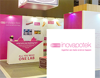 Stand INOVAPOTEK | In-Cosmetics Exhibit (Paris, 2016)