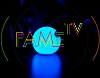 F.A.M.E TV // web TV + identité visuelle