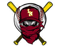 Los Angeles Rebels Team Logo Project