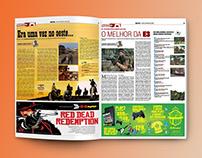 Jornalismo: coluna de games no caderno Blitz