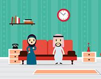 Motion Graphics of Doctor Sen Clinic - Saudi arabia