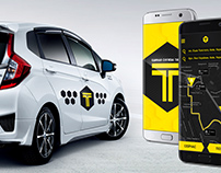 EX TAXI BRANDING AND APP