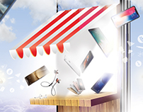 Mobile shop flayer