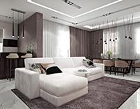Modern interior in Pestovo