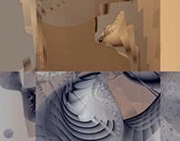 Fractals and deconstructivism