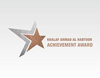 Khalaf Al Habtoor Achievement Award - Logo