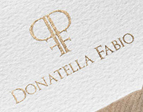 Donatella Fabio Identity Design