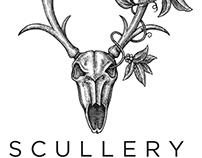 Scullery Logo Illustrated by Steven Noble