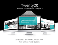 Twenty20 Presentation Deck Design