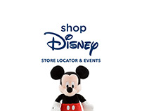Shop Disney Store Locator & Events Landing Page