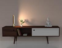 CHISELED | a sleek lamp