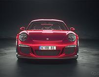 Automotive animation using Cinema 4D, Octane and AE