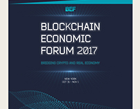 Concept presentation Blockchain Economic Forum 2017
